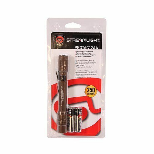 Streamlight 88072 PROTAC 2AA COYOTE BROWN 250L