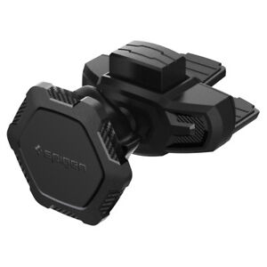 Magnetic-CD-Slot-Car-Mount-Phone-Holder-Spigen-QS24-Adjustable