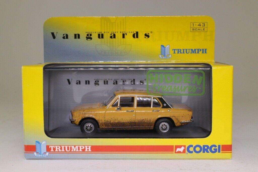 TRIUMPH DOLOMITE 1500HL SANDGLOW VANGUARDS 1 43 43 43 CORGI VA05311 jaune JAUNE 8ec92d