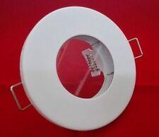 3 Stück IP65 EINBAURAHMEN RUND für GU10/MR16 Farbe: Weiss TOP Sales
