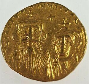641-AD-VF-Constans-II-and-Constantine-IV-Gold-Roman-Byzantine-Solidus-Sear-959
