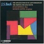Bach: The Sonatas for Flute and Fortepiano; The Partita for Solo Flute (2002)