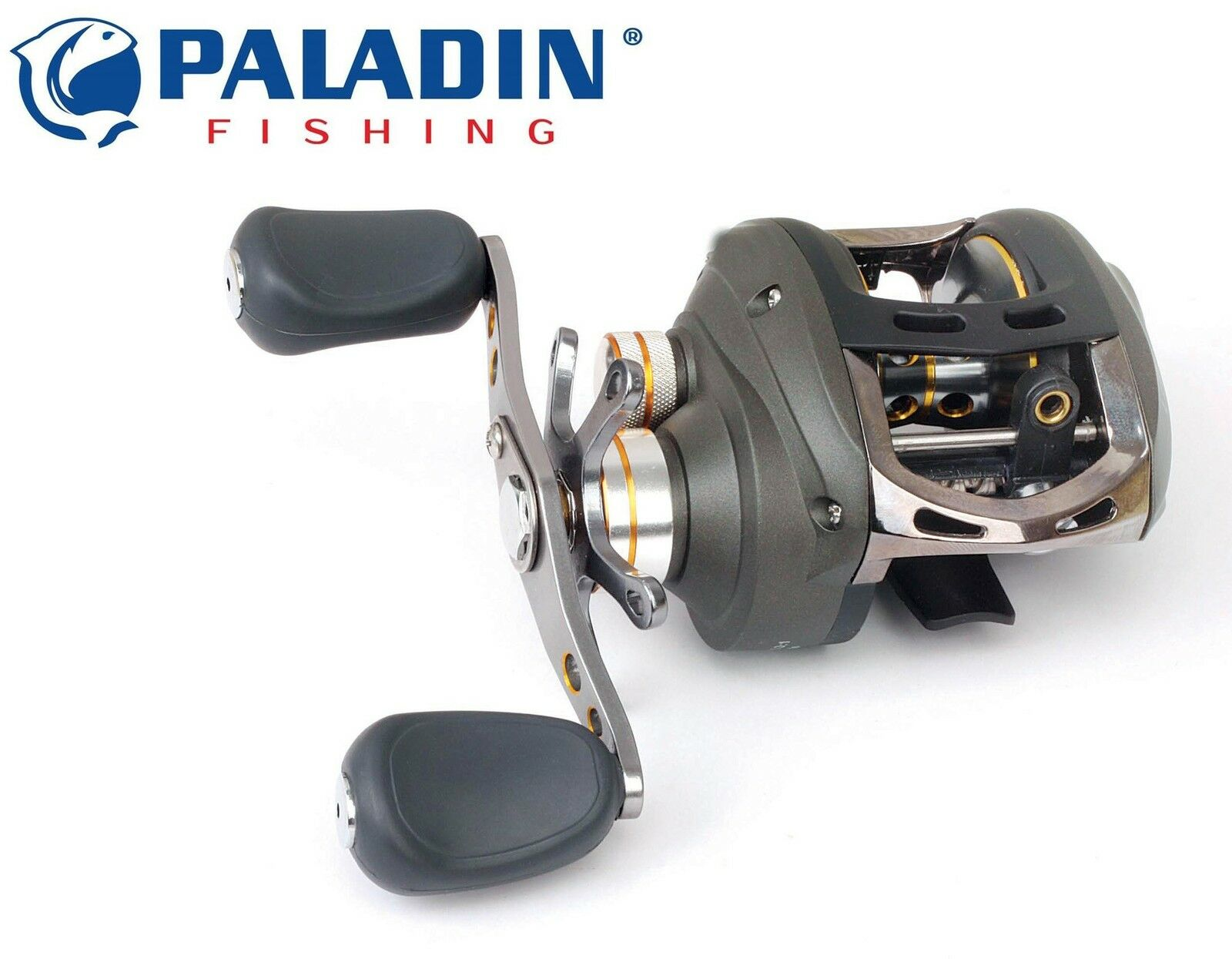 Paladin Palcast DLX-R - Multirolle, Baitcaster Rolle, Spinnrolle, Angelrolle