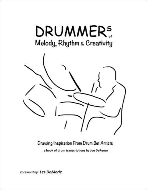 Drum Transcription Book by Joe DeRenzo - Featuring Elvin, Tony and many more!