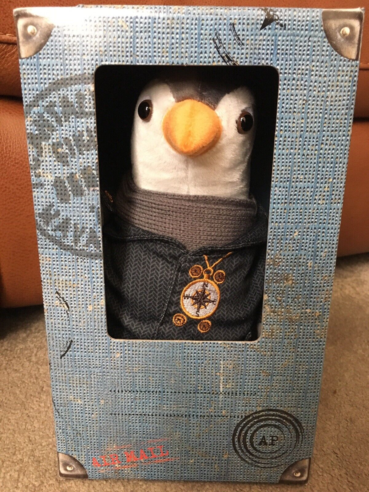 BNIB British Gas Wilbur Penguin Soft ToY + Passport Certificate Of Authenticity