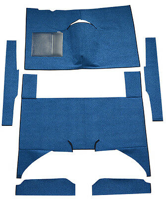 1960-1965 Mercury Comet 4 Door Sedan Bench Seat Loop Factory Fit Carpet