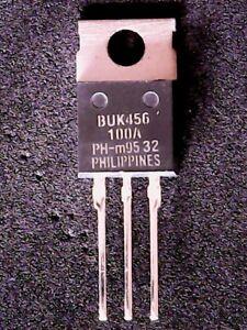 BUK456-100A-Philips-MOSFET-Transistor-BUK456-TO-220-GENUINE