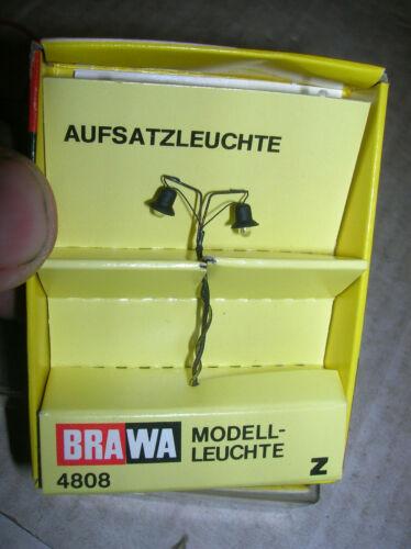 Brawa Z 4808 Quai éclairage lampe dissertation dans neuf dans sa boîte