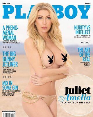 Autographed Magazine of Playboy Sweden December 2018