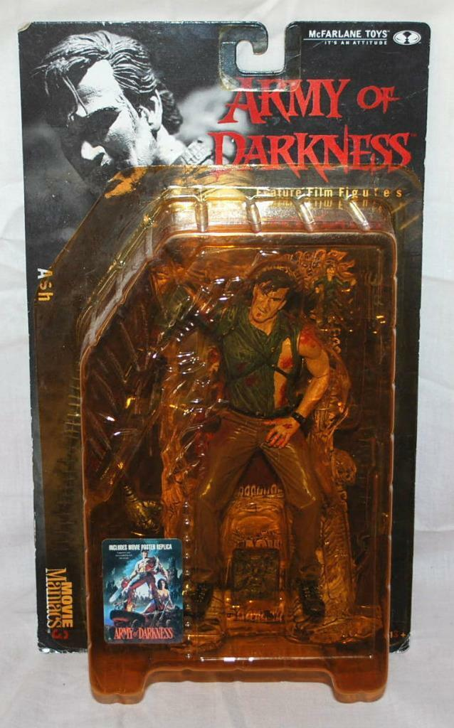 NEW McFarlane Movie Maniacs 3 Army Of Darkness ASH - Action Figure 171