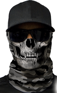 MOTORCYCLE-FACE-MASK-MILITARY-SKULL-GREY-Moto-Hunting-Fishing-Paintball