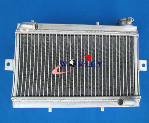 For Honda TRX250 TRX250R 1986 1987 86 87 Aluminum Radiator /& Silicone Hose black
