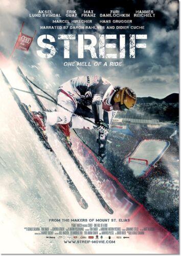 Elias Vintage ski movie poster riproduzione Streif dai creatori di MOUNT ST