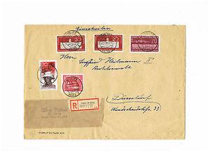Vente Pas Cher Rda Rare Mif D. Minr. 662 R-lettre Recommandé Dans Le Créneau Horaire 11-21.11.1958-afficher Le Titre D'origine Pour Assurer Des AnnéEs De Service Sans ProblèMe