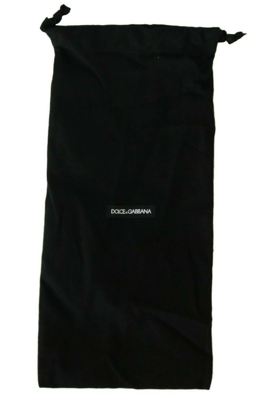 DOLCE & GABBANA Dustbag Cover Bag Cotton Black Drawstring Long 42cm x 20cm