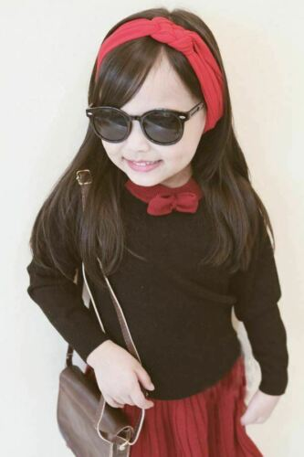Lovely Twist Knot Kids Toddler Girls Soft Hairband Headband Accessories