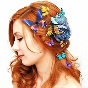 5Pcs-Set-Women-Girls-Butterfly-Hair-Clips-Wedding-Pins-Party-Bride-Hairpins