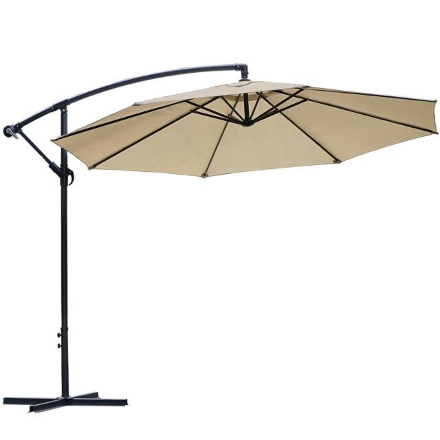 Roma Umbrella 10 Ft Cantilever, 10 Ft Cantilever Patio Umbrella