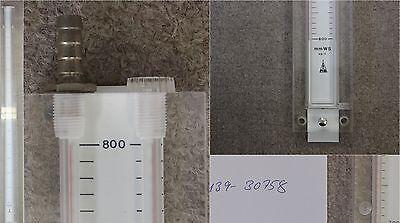 Armaturenbau Manotherm Beierfeld U-rohr-manometer Typ Fu - Skala -800-0-800 Mm Modischer (In) Stil;