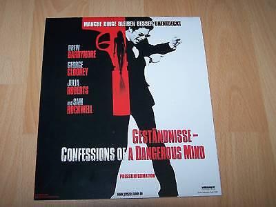 Confessions Of A Dangerous Mind Presseh Noch Nicht VulgäR Offen GestÄndnisse