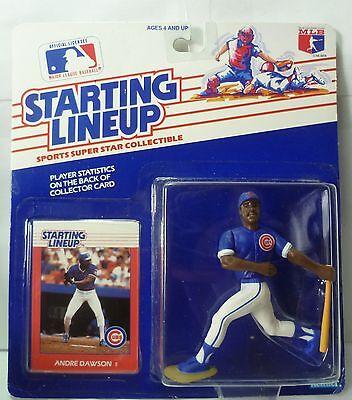 Starting Lineup SLU- Sports Figurine CHICAGO CUBS 1988  ANDRE DAWSON