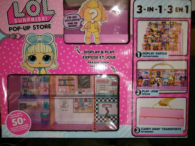 Doll MGA CHOP LOL Surprise Pop-Up Store 3-in-1 Display Carrying Case L.O.L
