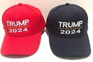 Campaign Distressed Dad Hat Trump 2024 Trump 2024 Maga Cap