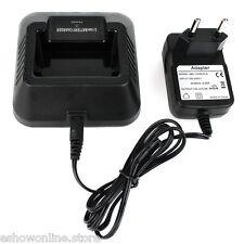 HOT Chargeur de batterie Radio 100v-240v Pour Baofeng BF-UV5R Talkies-walkies