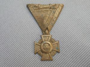 Guß-Orden : Militärverdienstkreuz 3.Klasse aus Österreich mit Kriegsdekoration