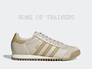 more photos 75707 f97f1 Details zu Adidas Original ROM Durchsichtig Braun Roh Sand Gum 4 Herren