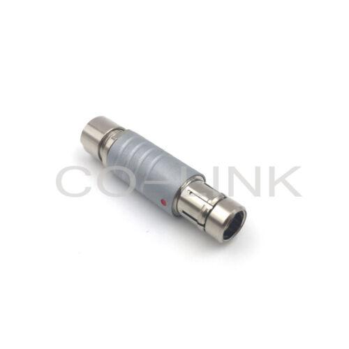 RS 3pin-for Fischer 0F 3pin Conector para ARRI ALEXA AMIRA cámara cable de alimentación