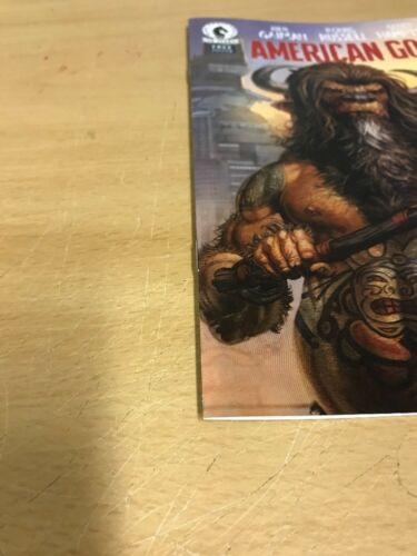 AMERICAN GODS RARE PREVIEW MINI COMIC EDITION GIVEN OUT AT 2017 NEWYORK COMICCON