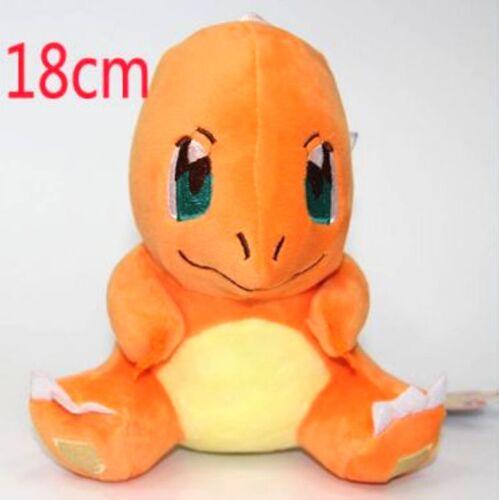 "US Seller Japanese Anime Plush 7/"" Pokemon Charmander #xiao-2098"