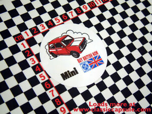 Classic Mini Clubman Buy British Sticker Ebay