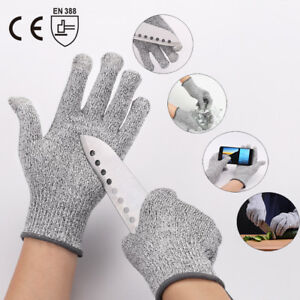 Details about Cut Resistant Gloves Safety Handwork Kitchen Cutting Butcher  Level 5 Protective