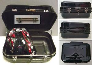Universal-Steel-TopBox-0601-Motorcycle-MotorBike-Chopper-Trike-48L-Black