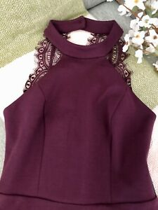 Lulus Skater Dress Size XS Women's Plum Purple