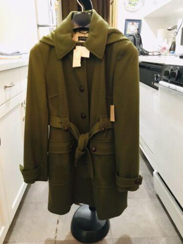 con automatico Green Duffle Loden Jcrew Coat cinturino xBIqI1F