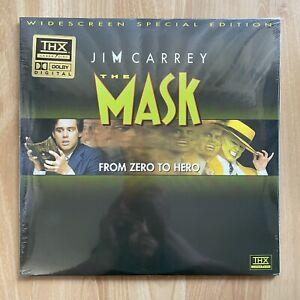 THE MASK Laserdisc 1994 2-disc Widescreen THX LD Jim Carrey - FACTORY SEALED
