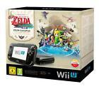 Nintendo Wii U (Aktuellstes Modell)- The Legend of Zelda: The Wind Waker HD Premium Pack Limited Edition 32GB Schwarz Spielekonsole (PAL)