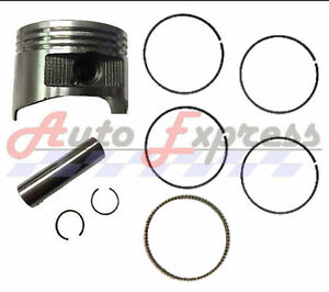 Auto Express Fits Honda GX240 8.0 HP .50 mm Over Standard Sized Bore Piston with Rings Pin Clips