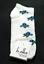 Annabelle b.ella Low Ankle Socks White New Women Size 9-11 Flower Fashion
