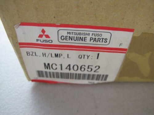 NOS MITSUBISHI MC140652 LAMP CASE LEFT FOR 1994-2004 MITSUBISHI FUSO CANTER