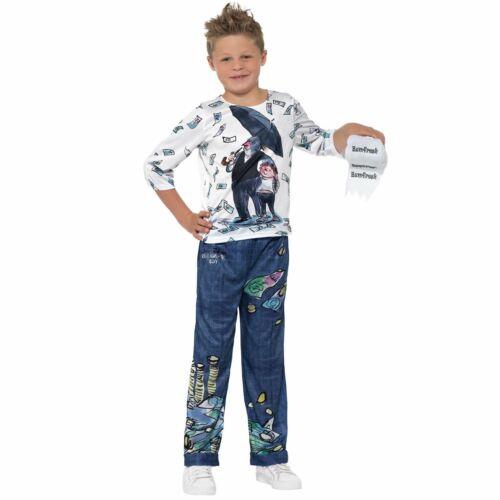 Officiel David Walliams Deluxe Billionaire Boy Joe Spud Fancy Dress Costume