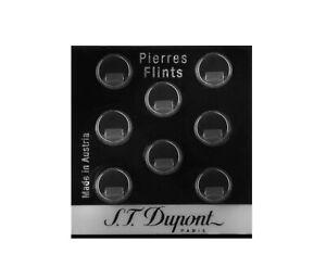 Lot de 8 pierres à briquet grises référence 600 St Dupont