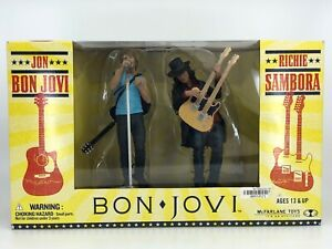 Richie Sambora Action Figure Bon Jovi New 2007 McFarlane Toys