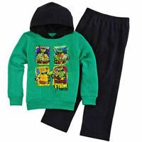 Ninja Turtles Hoodie Pants Fleece Track Clothing Set Outfit Sizes 4, 5 Or 7 $26