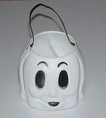 HALLOWEEN EMPIRE GHOST CANDY CONTAINER PAIL BUCKET BLOWMOLD
