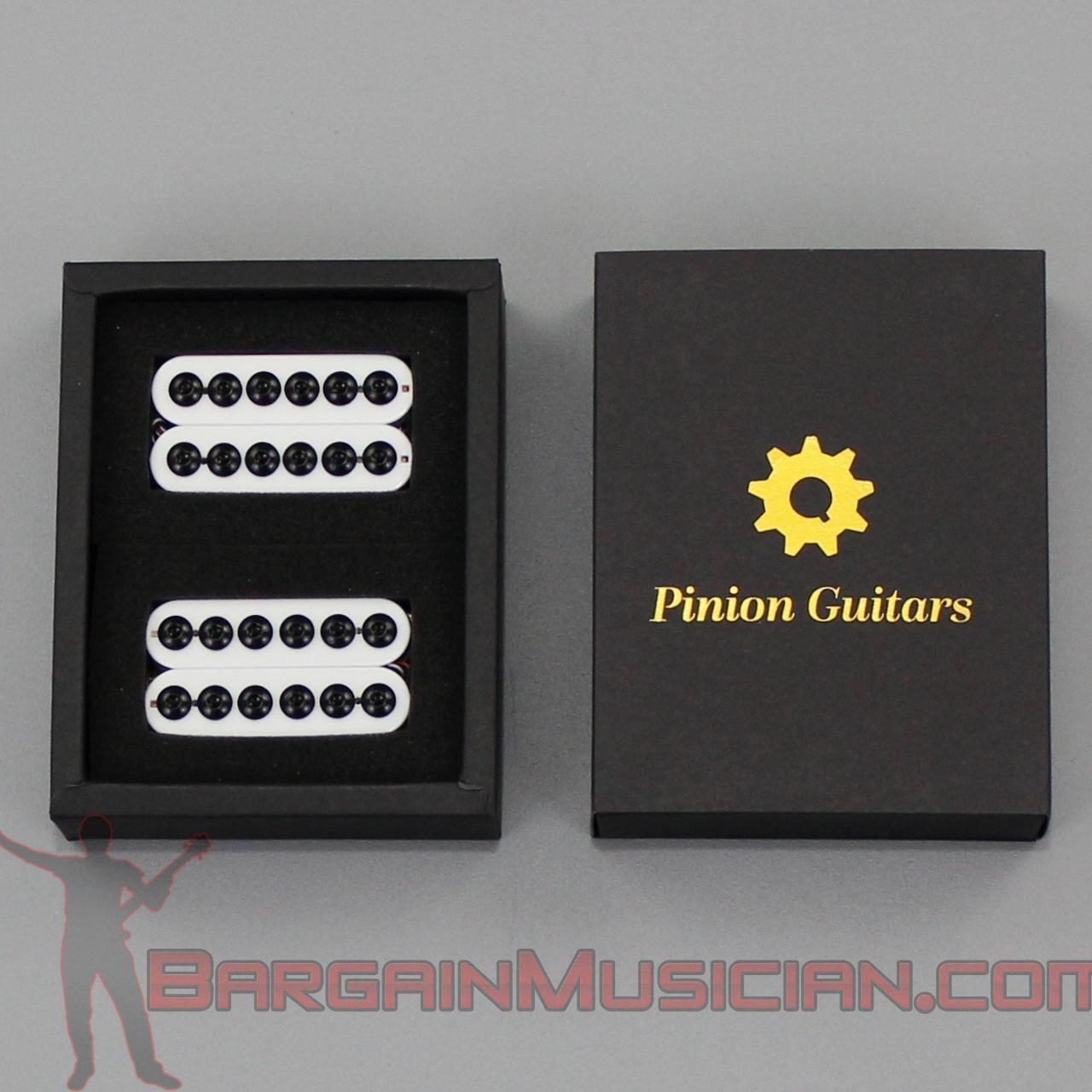 Pinion Guitars - HA3-WH - Premium Big Pole Humbucker Electric Guitar Pickup Set