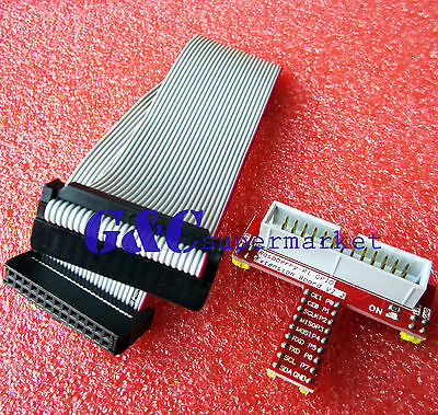 26 Pin Extension Flat Ribbon Cable Wire+Raspberry PI GPIO Extension Board